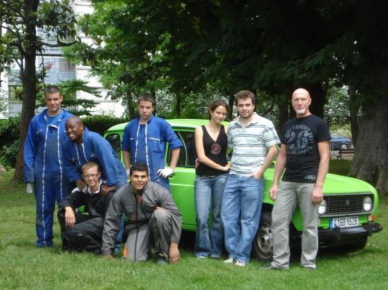 Toute l'équipe participant au projet