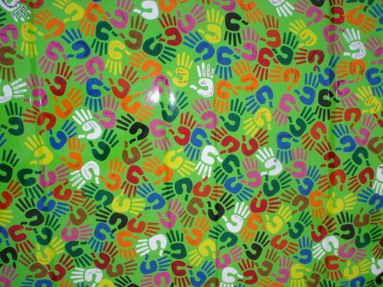 Une mozaïque de main, implication du plus grand nombre