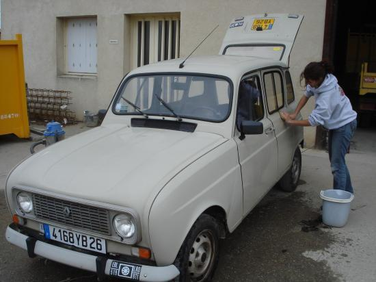 Acquisition de la voiture