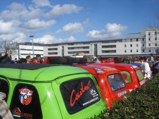 Le parc auto de Bordeaux