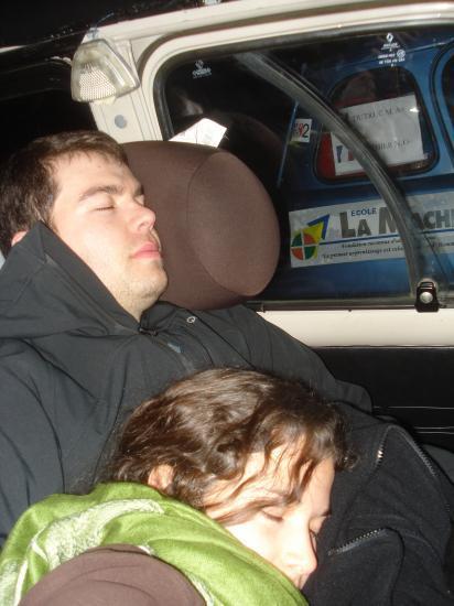 Condition N°1 : pouvoir dormir n'importe où...