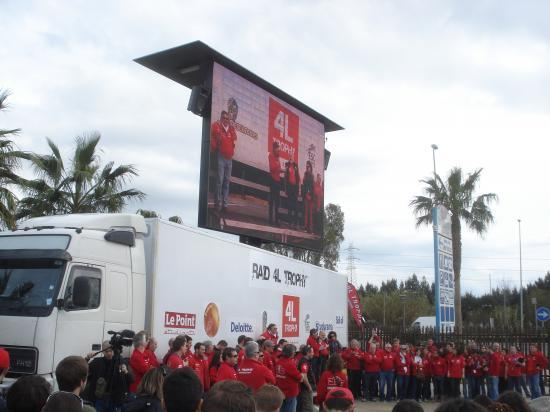 1e briefing à Algésiras