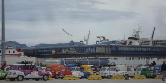 L'attente du ferry