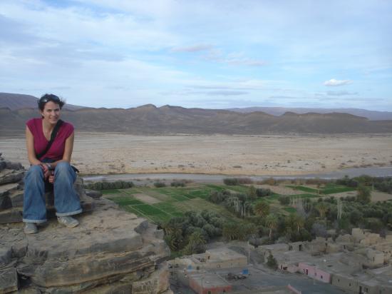 Point du vue de l'oasis